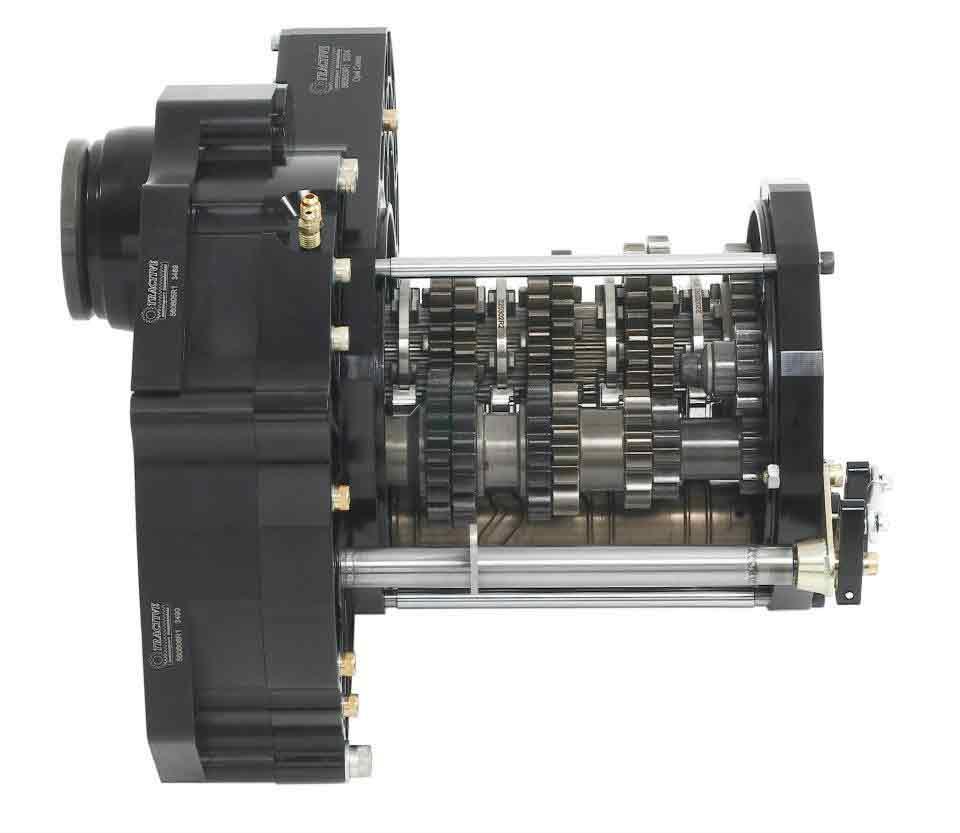Секвентальная коробка передач для переднеприводных автомобилей Tractive SD90